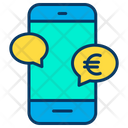 Euro M Commerce Icon