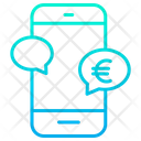 Euro M Commerce Banking Euro Icon