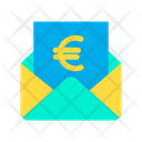 Euro Message Mail Icon