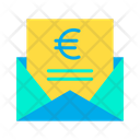 Euro Message Euro Mail Icon