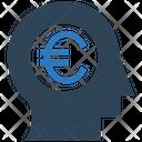 Euro Mind Money Mind Head Icon