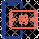 Euro Mobile Pay Icon