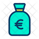 Bag Euro Money Icon
