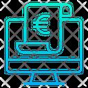 Euro monitor Icon