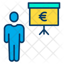 Euro Presentation Presenter Presentation Icon
