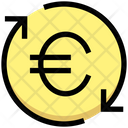 Euro Processing Payment Processing Payment Cycle Icon