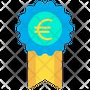 Euro reward Icon
