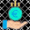 Save Euro Euro Coin Coin Icon