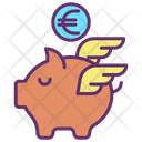 Minvestment Capital Euro Savings Piggy Bank Icon