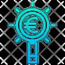 Search Business Search Euro Business Search Icon