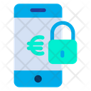 Mobile Password Lock Online Payment Security Icon
