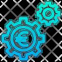 Euro Finance Finance Setting Icon