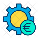 Euro setting wheel Icon