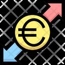 Euro Sharing Euro Money Icon