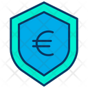 Euro Shield Money Security Secure Money Icon