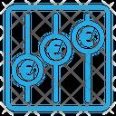 Euro Statistic Icon