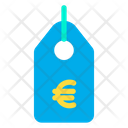 Tag Euro Offer Tag Icon
