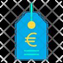 Euro tag Icon
