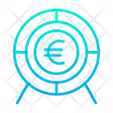 Euro Target Euro Target Icon