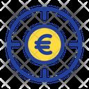 Euro Target Icon