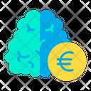 Euro Think Euro Brain Brain Icon