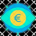 Euro View Euro Eye Euro Icon