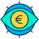 Euro View Euro Eye Euro Icon