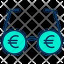 Euro Vision Vision Money Icon