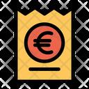 Euro Voucher Icon
