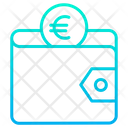 Euro wallet Icon