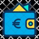 Euro Wallet Cash Icon