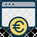 Euro Website Euro Website Icon