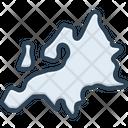 Europe Map Region Icon