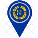Europe Euro Location Icon