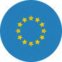 Europe Flag World Icon