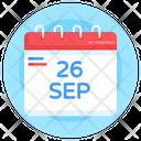 Reminder Calendar European Languages Day Icon