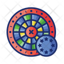 European Roulette European Game Icon