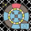 European Roulette European Game Icon