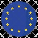 European Union Flag Icon