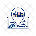 Village Winter Europe Icon