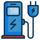 Iev Electric Vehecle Icon