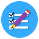 Evaluate Estimate List Icon