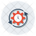 Evaluate Productivity Efficiency Icon