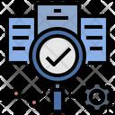 Evaluate Statistic Data Icon