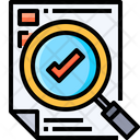 Evaluation Project Monitoring Project Reporting Icon