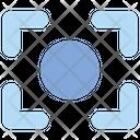 Evaluation Spot Metering Icon