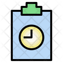 Evaluation Assessment Time Management Icon