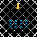 Evaporation Water Steam Icon