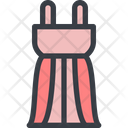 Evening Dress Dress Party Dress Icon