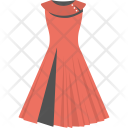 Red Gown Fashion Icon
